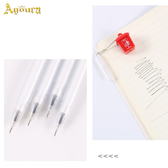 Hot sale office school supplies for writing gel Ink pen neutral pen black signature pen