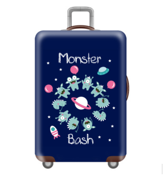 Customize Your Image / Name / Logo Luggage Cover Suitcase Protective Covers Elastic Anti-dust Case Cover For 18-32 Inch Trolley