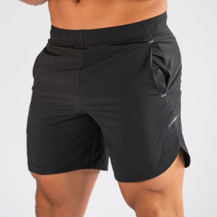 "Pure Platinum 8"" inseam comfort workout men's shorts; dry&cool adjustable fit training custom shorts men"