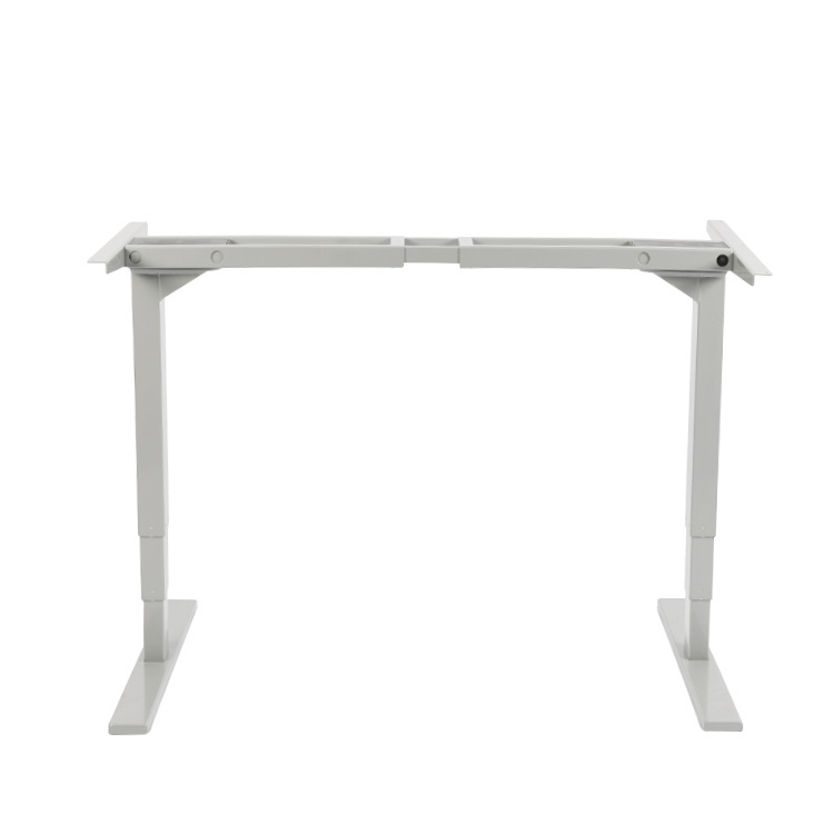 Custom Adjustable White Height Lift Sitting Up Desk To Standing Desk Electric India