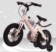 hot sale 12 inch kid <strong>bike</strong> magnesium alloy frame magnesium alloy fork magnesium wheel double disc brake trade assurance