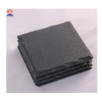 Handmade coaster wholesale slate coasters, cheap slate tea cup bulk coasters