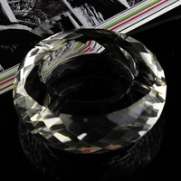 Wholesale new design of crystal ashtray