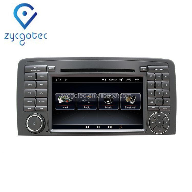 ZYCGOTEC Android 9.0 2din Car DVD Multimedia Player For Mercedes Benz ML-Class W164 2005-2012/GL-Class X164 2005-2012 GPS Radio