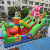 High Quality Hot Selling Commercial Funny Land Dry Plato Inflatable Princess Bouncy Jumping Castle City