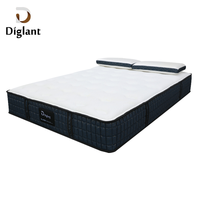 D37 Diglant 5 star bedroom inflatable pocket spring 12 inch queen king xxxn foam memory high quality latex hotel mattress - Jozy Mattress | Jozy.net