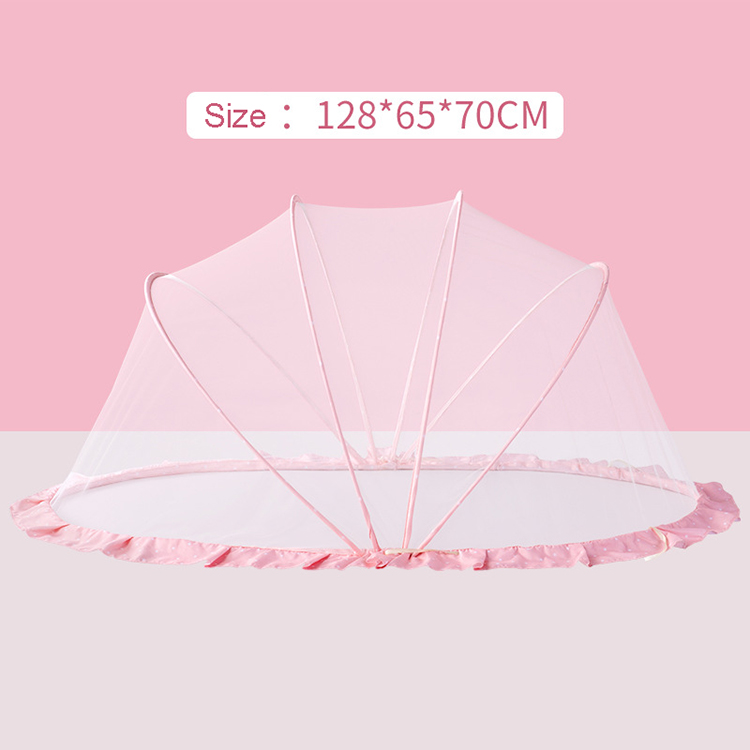 Super September Portable Folding Baby Mosquito Net Tent for Crib Bed Sofa Floor for Babies Under 5 Years Old