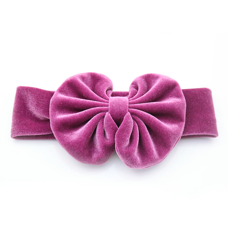 2020 Popular soft velvet <strong>hair</strong> tie <strong>hair</strong> bow headband <strong>hair</strong> <strong>accessories</strong> for babies