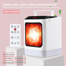 Hot sell 800W-1000W portable wonder Desk <strong>Heater</strong> with Remote Control Optional