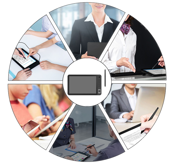 10.1inch usb digital signature pad for pc