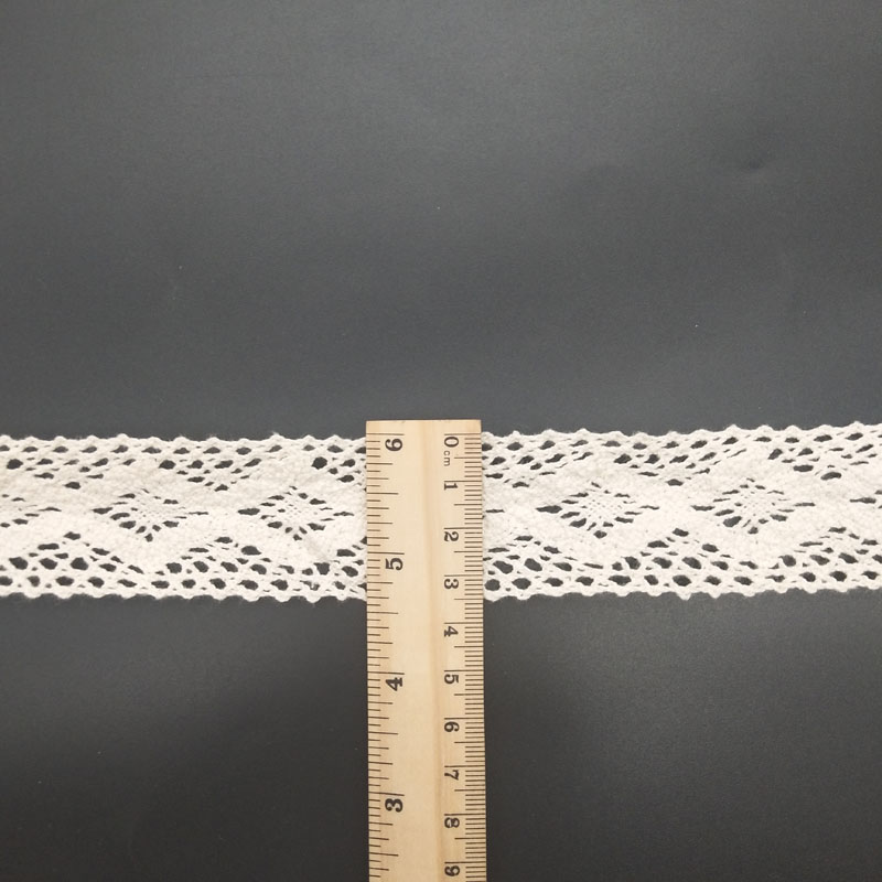 all have stock different pattern cotton crochet lace trim stock