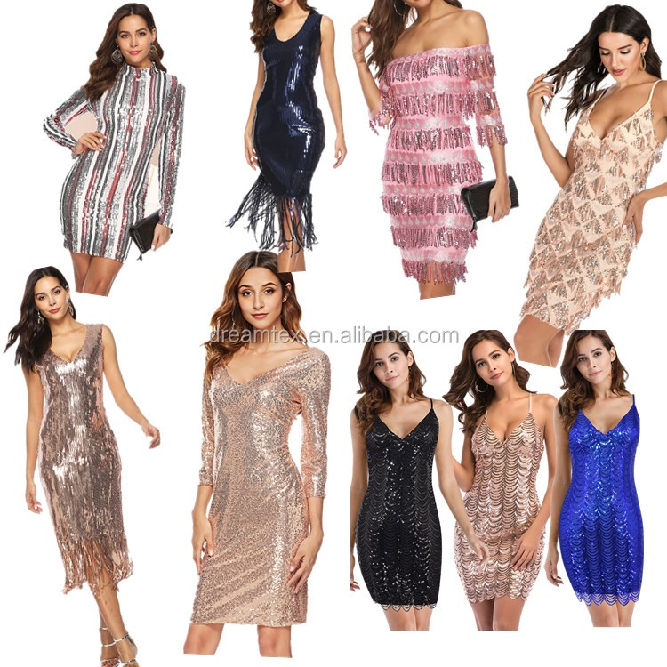 High quality new hot evening women sexy lady girls party bar club dresses lady night party dresses women