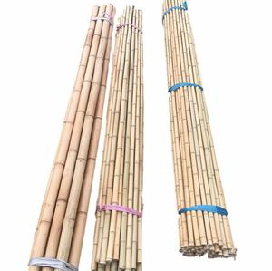 Raw Bamboo Poles for Nursery Planting/Custom Bamboo Timber Material