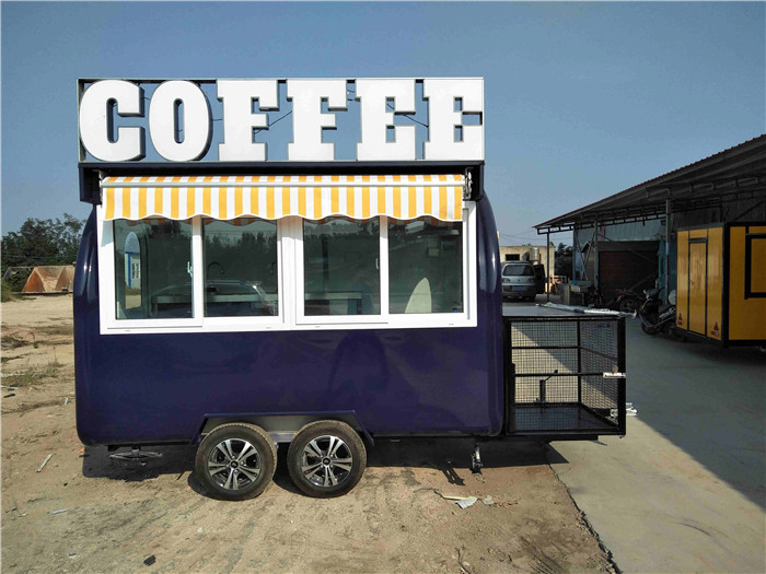 2020 Best Selling Outdoor Concession Food Trailer, Mobile Fast Food Trailer