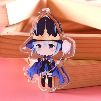 Cartoon Design Acrylic Keychain Maker Custom Shape Printed Blank Anime Acrylic Key Chain