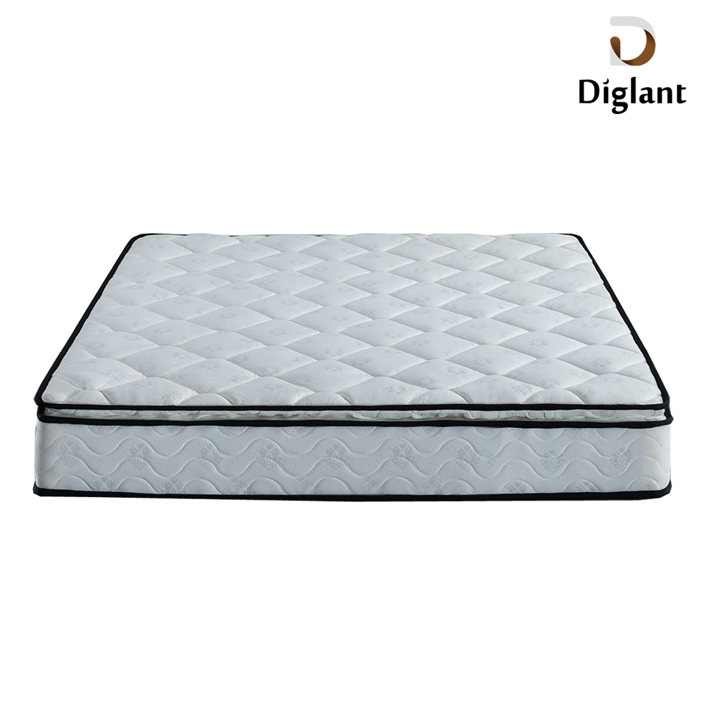 LIN-261-2 Diglant furniture Memory Foam Latest Double Single Bed Fabric cheap and fine euro spring mattress - Jozy Mattress | Jozy.net