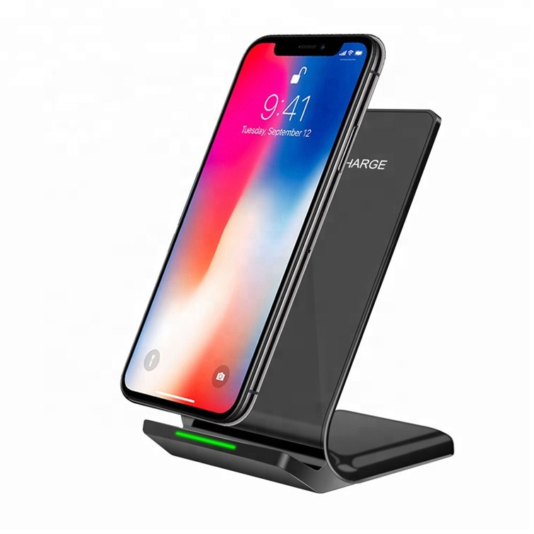2019 Amazon Hot Selling Fast QI Wireless Charger for iPhone 11 for iPhone XS Max XR 8/8plus for Samsung S8 S9 S10 Plus Note <strong>10</strong>
