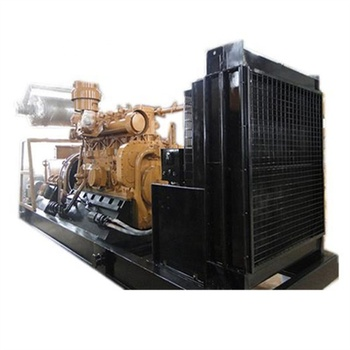 Self power supply by gas generation equipment 1000kw CNG generator