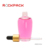 Round shape 60ml PETG dropper oil bottle with gold dropper cap