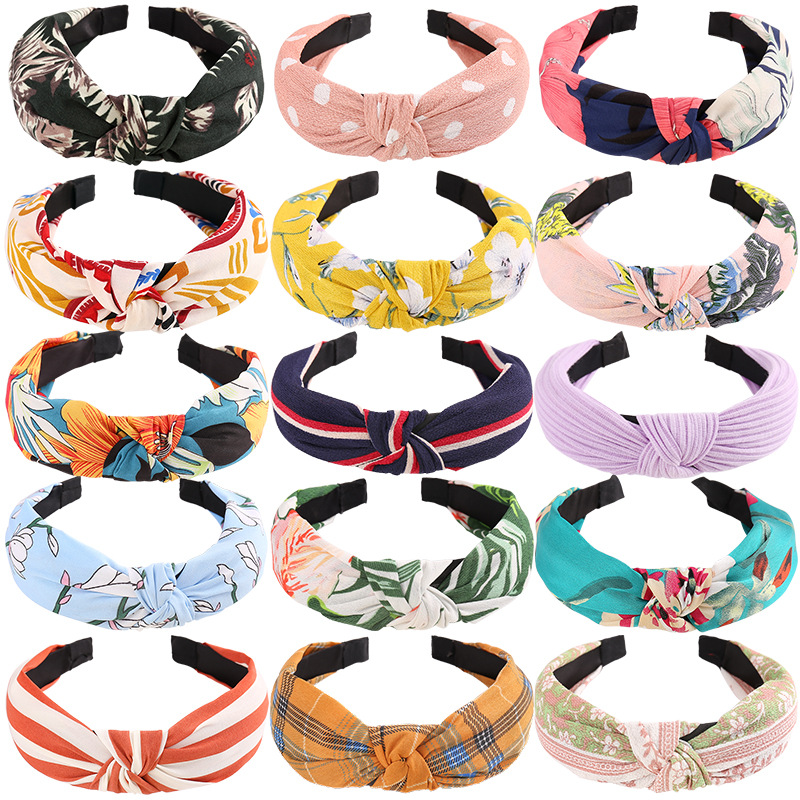 Factory price MOQ 10 Headbands Over <strong>130</strong> styles in stock Design hair band for women