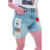 2020 new arrivals women  fashion designed short denim jeans #19283
