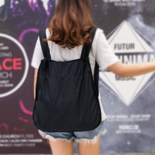 Newest Fashion Eco Bag notabag Handbag shopping bag <strong>Backpack</strong> 2way