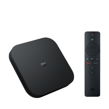 HK Stock Original Xiaomi Mi Box S 4K HDR Android TV with Google Assistant <strong>Remote</strong> Streaming Media Player Android 8.1 EU Version