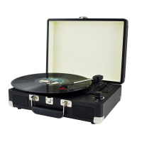 Bluetooth USB Radio Classic Vintage Vinyl Record Player Phonograph with Speaker