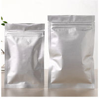High Quality Resealable Plastic Al Zipper Bag Packing Weeds Tea Coffee Bean