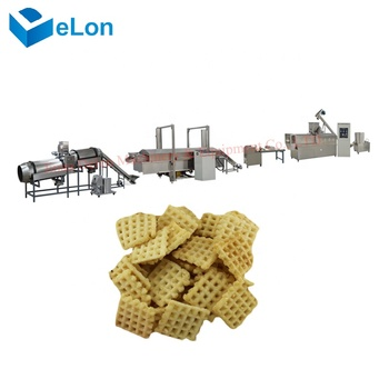Rice crispy making machine