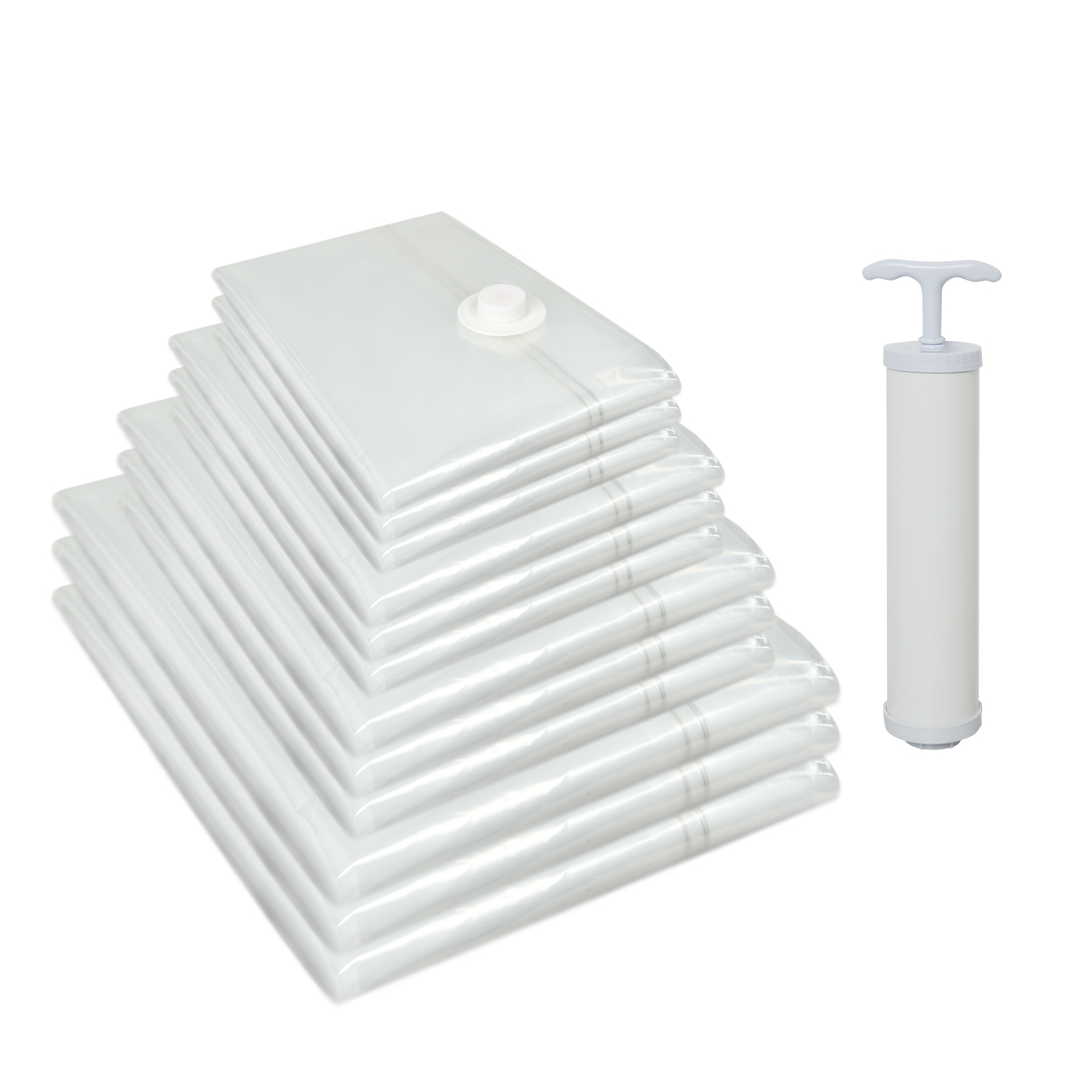 Vacuum storage bags travel vacuum sealer bags <strong>110</strong> micron 8 wire