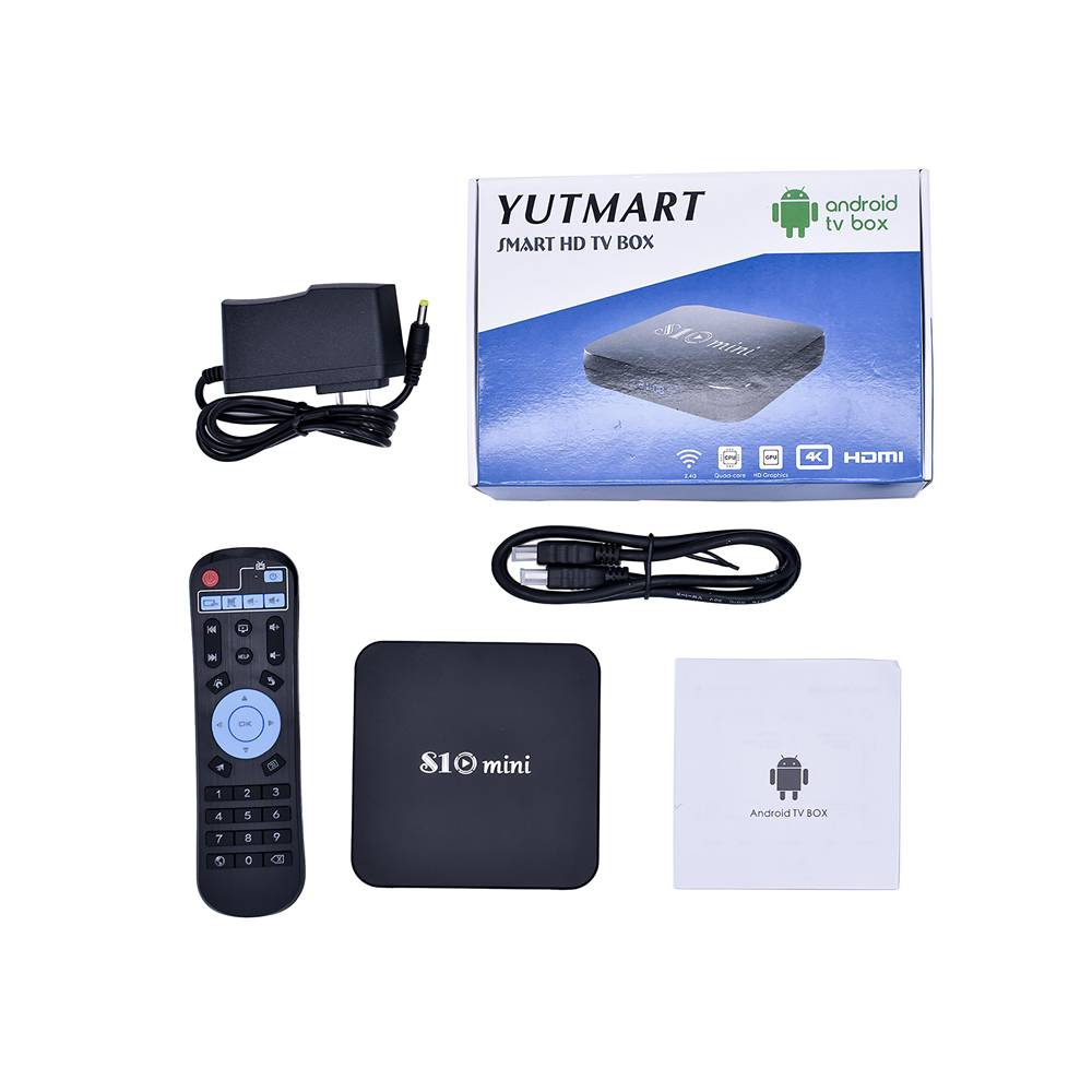 Hot Amlogic S905W S10 <strong>Mini</strong> S905W 2gb ram 16gb rom tv box android 8.1 quad core set top box