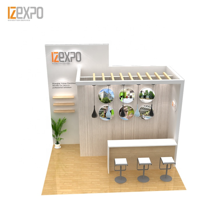IZEXPO 30MINS QUICK SETUP exhibition stand material exhibition system booth for trade <strong>show</strong>
