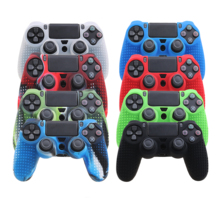 non-slip particles Rubber Skin Cover Anti-slip waterproof silicone cover case for sony <strong>playstation</strong> 4 ps4 pro controller