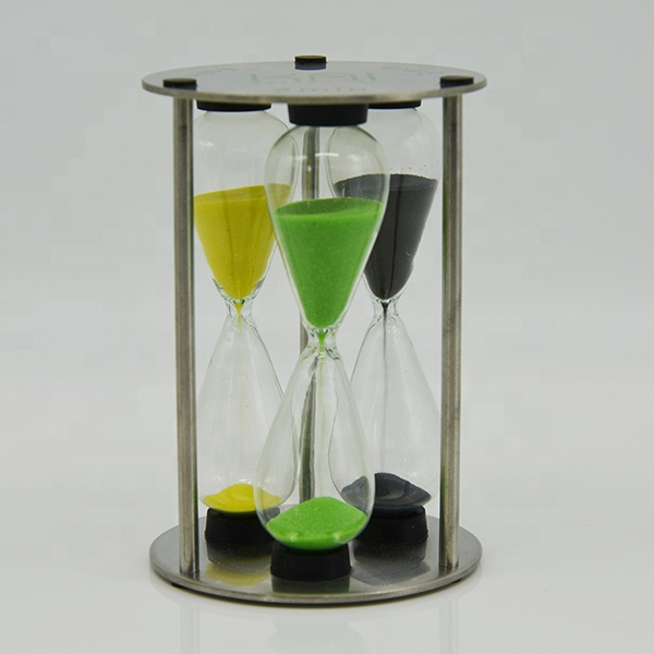 3 In 1 Sand <strong>Timer</strong> 3 4 5 minutes Metal Tea Sand <strong>Timer</strong>