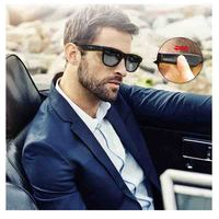 Sunglasses Bluetooth Bone Conduction Headset Touch Smart Glasses Sports Wireless Polarized Sunglasses Headphones With Microphone