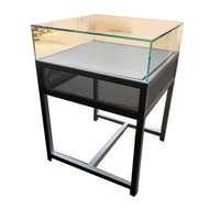 OEM service factory made sheet metal fabrication for high-end shop glass watch or jewelry display table