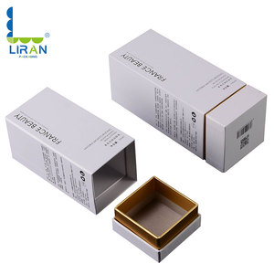 Free samples in stock 2018 hotsales High quality paper box custom printed skin care packaging box and cosmetics box