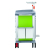 Italy new design hospital medical emergency crash anaesthesia trolley cart price