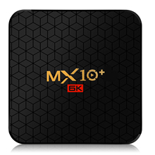 2019 Factory price MX10+ Android TV Box 4gb ram 32gb rom Dual wifi BT4.0 Smart Android 9.0 TV Box mx10+