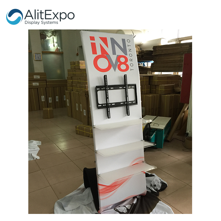 Portable Customized Advertising Literature Stand
