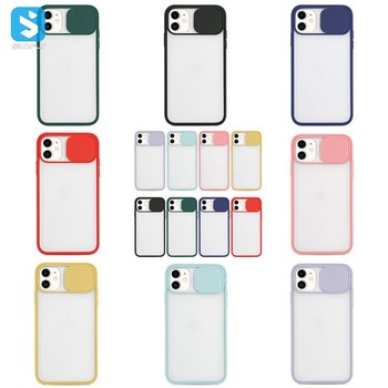 2020 Case 6.7 inch Matte phone case for iPhone 12 Preminium Quality For Apple mobile with Camera Cover