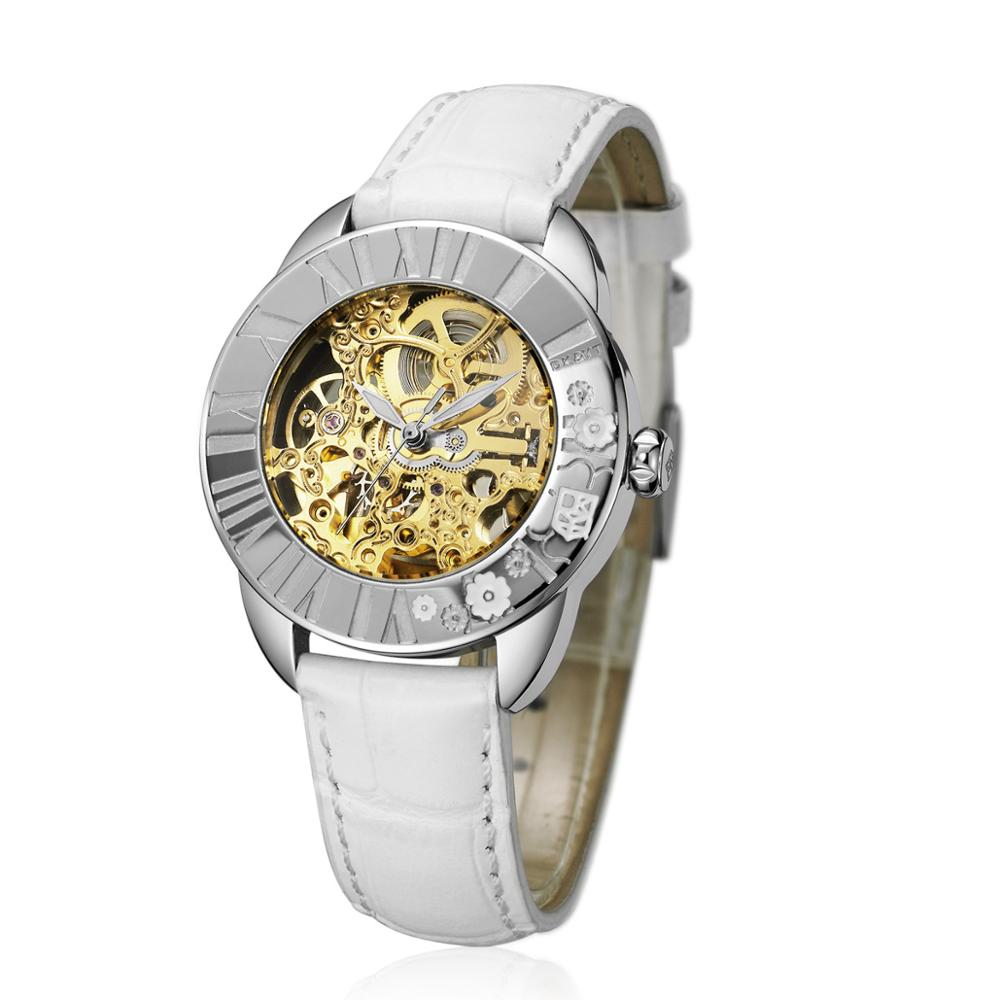 Low MOQ Customized Automatic Wristwatches Stainless Steel Luxury <strong>Watch</strong> Women Popular Mechanical <strong>Watch</strong>
