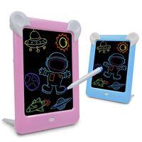 Desalen Kids Educational Toy Gifts Painting LED Glowing Drawing Board 3D Magic Pad