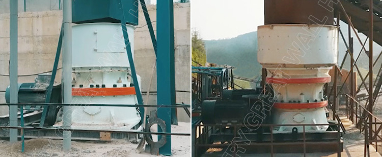 100-150 tph Granite Single Cylinder Hydraulic Cone Crusher Price For Sale