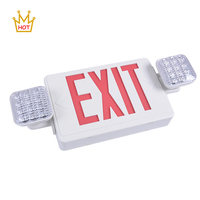 UL listed battery powered emergency exit combo exit led sign light