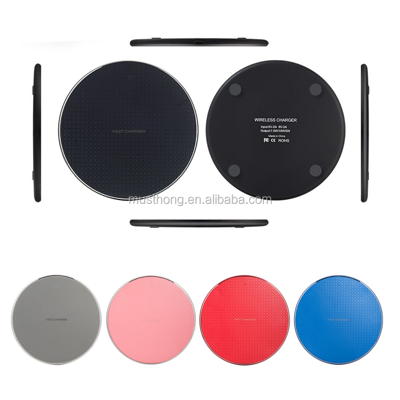 Cheapest Aluminum Alloy Base Fast Wireless Charging Pad Compatible with All Qi-Enabled Devices and Xiaomi 10 Pro 5G Phones