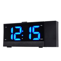 Modern High Quality Digital Radio AM Fm Digital Wake Up Bling Light Alarm Clock Table Clock