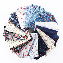 Factory direct hot Selling <strong>100</strong>% Cotton Poplin Printed Fabric For Shirt