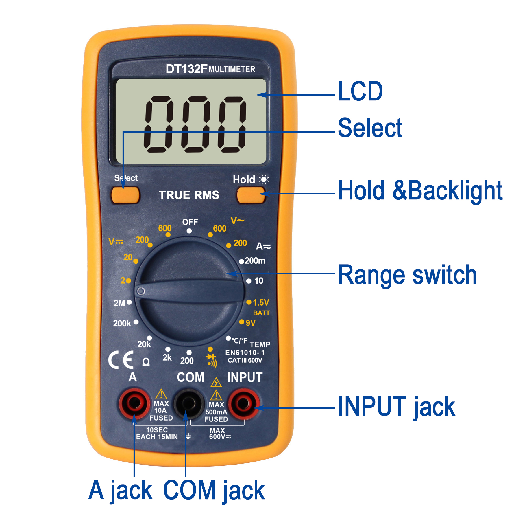 multimeter NEW ARRIVAL HOT PRODUCT Auto range DT132F